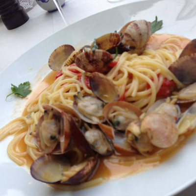 Spaghetto alle vongole veraci