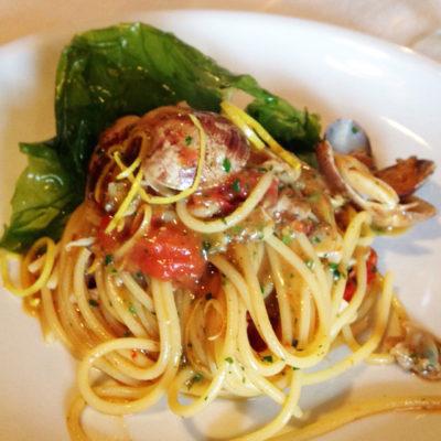 Spaghetto a Vongole